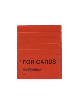 Off-white - Orange 'for Cards' Wallet - Men