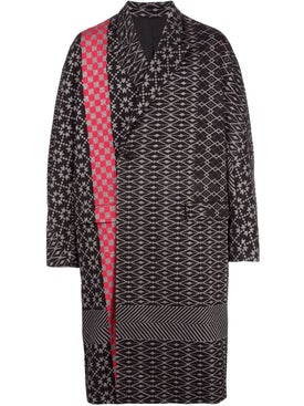 Haider Ackermann - Ankle Length Oversized Jacquard Coat - Long