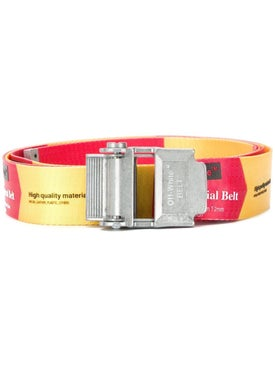 Off-white - Red Industrial Belt Red Yellow - Belts