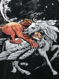 Givenchy - Lion And Pegasus Fight T-shirt - Men