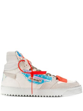 Off-white - White & Multicolor Off-court High Tops Iridescent - Men