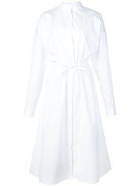 Maison Rabih Kayrouz - White Poplin Shirt Dress - Women