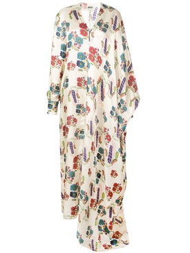 Maison Rabih Kayrouz - Ottoman Flowers Maxi Dress - Women