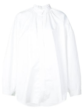 Maison Rabih Kayrouz - White Cotton Poplin Shirt - Women