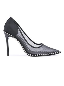 Alexanderwang - Rie Black Mesh Pumps - Women