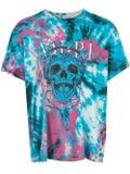 Amiri - Skull Print Tie-dye T-shirt Purple - Men