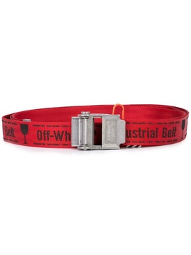 Off-white - Red Industrial Belt Red - Belts