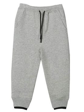 Grey Melange logo sweatpants
