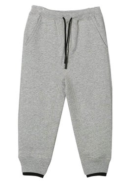 Burberry - Grey Melange Logo Sweatpants - Kids
