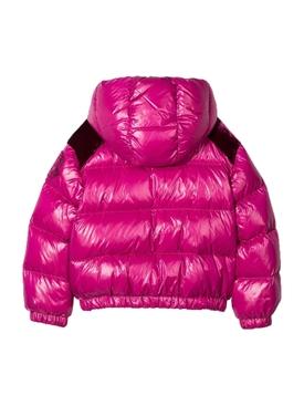 Kids pink puffer jacket