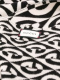 Gucci - G Rhombus Scarf Ivory/black - Women