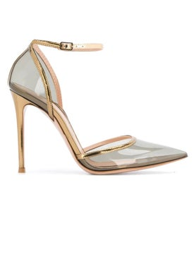 Gianvito Rossi - Sabin Pumps Gold Plexi - Women