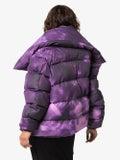 Marques'almeida - Purple Tie-dye Puffer Jacket - Women
