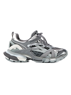 Grey & black Track.2 caged sneakers