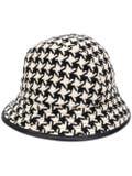 Gucci - Houndstooth Bucket Hat - Women