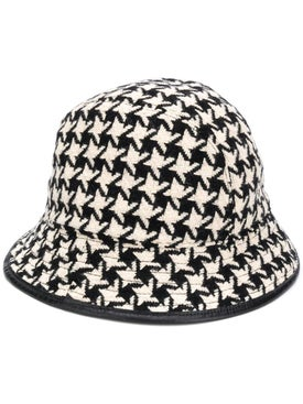 Gucci - Houndstooth Bucket Hat - Women