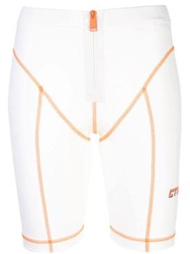 high-waisted cycling shorts