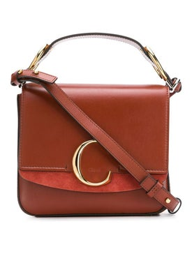 Chloé - Terracotta Medium C Bag - Crossbody