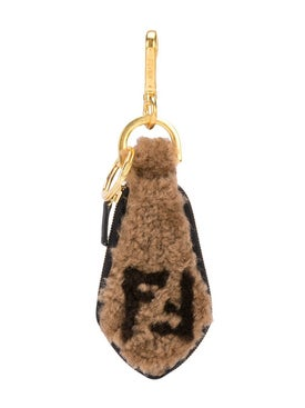 Fendi - Shearling Key Chain - Women