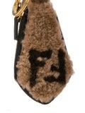 Fendi - Shearling Key Chain - Women