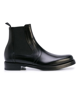 Heroes black leather boot