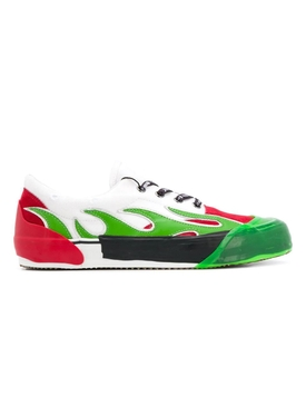 Palm Angels - Flame Sneakers Green - Men