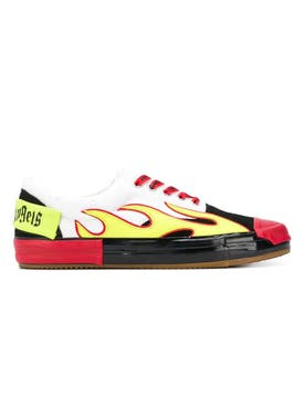 Palm Angels - Flame Sneakers Red - Shoes