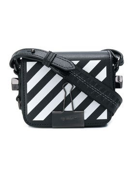 Off-white - Diagonal Strip Baby Bag - Women