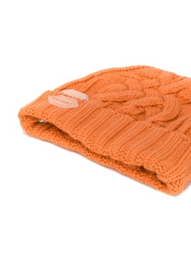 Off-white - Pop Of Color Logo Beanie Orange - Women