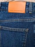Stella Mccartney - Embossed Logo Straight Leg Jeans - Women
