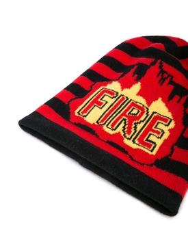 Fire beanie hat