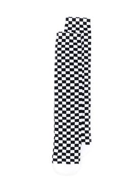 Off-white - Black And White Checkered Socks - Women