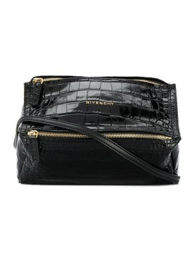 Givenchy - Black Embossed Mini Pandora Bag - Women
