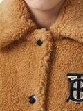 Burberry - Monogram Fleece Jacket Camel - Short
