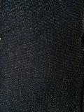 Chloé - Navy Lurex Wrap Dress - Women