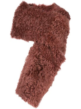 Sies Marjan - Jordi Sheep Skin Shrug Mauve - Women