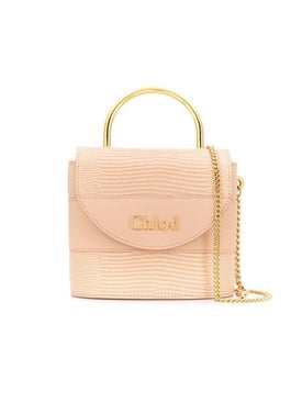 Chloé - Light Pink Aby Lock Bag - Women