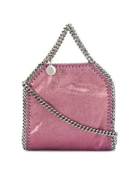 Stella Mccartney - Tiny Metallic Falabella Tote Purple - Women