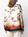 Gucci - Multicolored Bird Print Shirt - Women