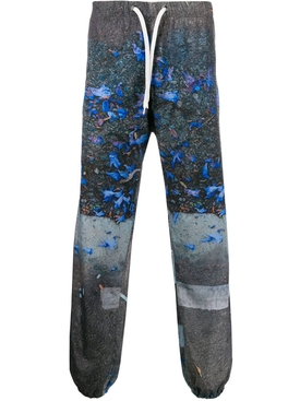 Pavement print track pants