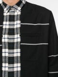 Haider Ackermann - Stripe And Check Print Shirt - Men