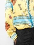 Lost Daze - Multicolored Print Silk Shirt - Men