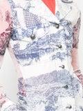Chloé - Printed Sheer-panels Blouse - Women