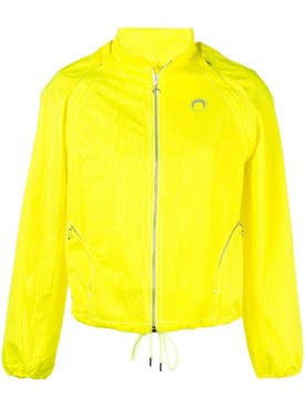 Marine Serre - Yellow Bomber Jacket - Women
