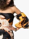 Johanna Ortiz - Silk Floral Mini Dress - Women