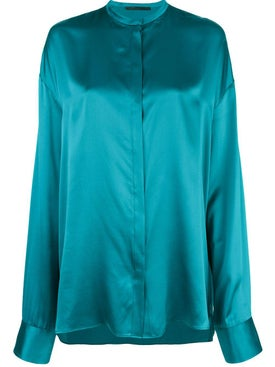 Haider Ackermann - Blue Dali Blouse - Women
