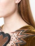 Eva Fehren - 18kt Rose Gold Diamond Hoops - Women