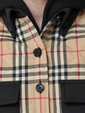 Burberry - Check Print Flannel Jacket - Women