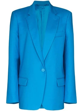 Attico - Over-sized Turquoise Blazer - Women