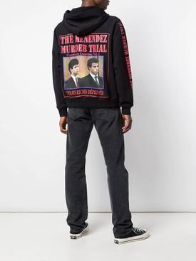 Trial print hoodie
